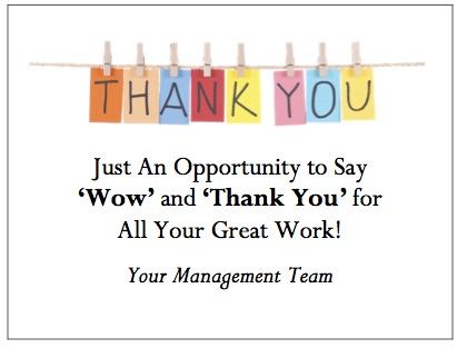 Thank You Quotes For Employees Reality Solutions | Thank You Quotes For Employees 3   Reality  Thank You Quotes For Employees